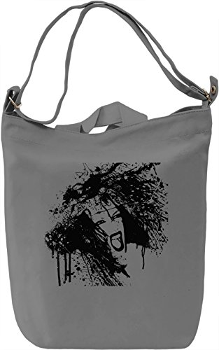 Woman scream Borsa Giornaliera Canvas Canvas Day Bag| 100% Premium Cotton Canvas| DTG Printing|