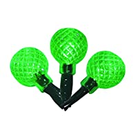 Product Works UltraLED Battery Operated Green Rasberry Twinkle Lights, 3.5-Feet