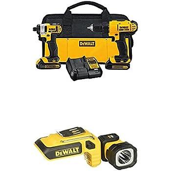 Amazon Com Dewalt Dck240c2 20v Lithium Drill Driver