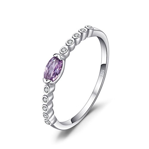 JewelryPalace Classic 0.3ct Oval Created Alexandrite Sapphire Anniversary...