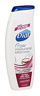 Dial NutriSkin Extra Dry Skin with Shea Butter plus BioNutrient Complex Replenishing Lotion, 12oz (Pack of 3) (B00EZWSS08) | Amazon price tracker / tracking, Amazon price history charts, Amazon price watches, Amazon price drop alerts