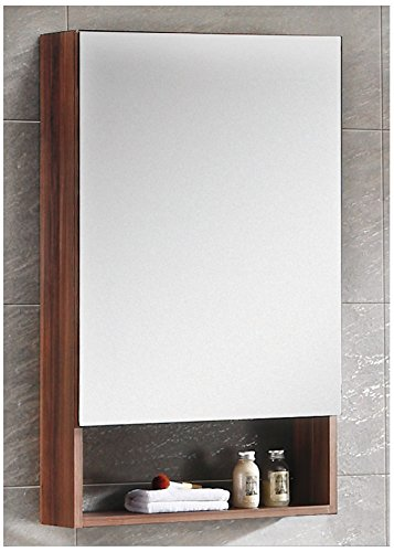 Fine Fixtures GRM20BW Greenpoint Medicine Cabinet, 20'', Black Walnut by Fine Fixtures