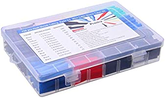 Schrumpfschlauch in Sortiment-Box Set 750-teilig bunt 2:1 Schrumpfschläuche