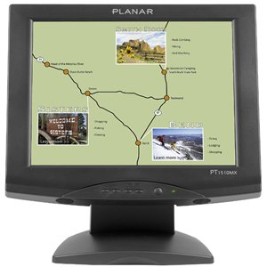 Amazon com: Planar PT1510MX Touch Screen Monitor - 15