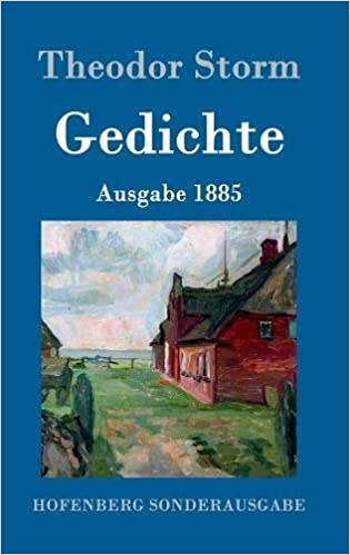 Gedichte German Edition Theodor Storm 9783861997702