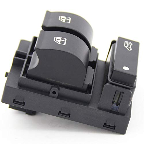 POWER MASTER WINDOW SWITCH CONSOLE FOR PEUGEOT BOXER CITROEN RELAY FIAT black