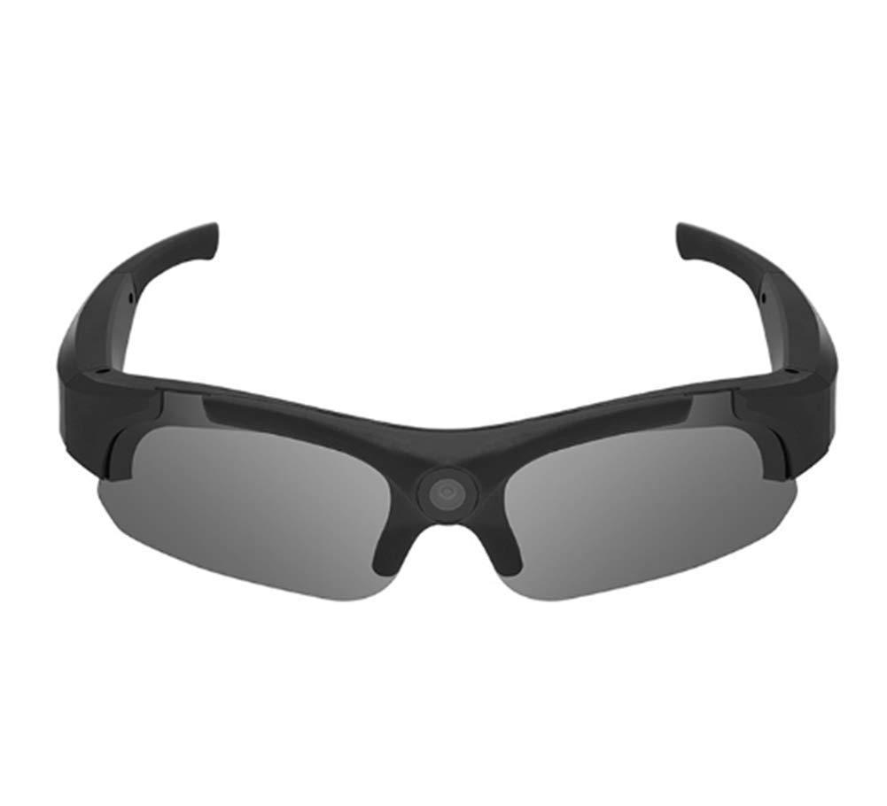 APJJ Sonnenbrille Full-HD- und 135-Grad-Action-Cam-Sport-Sonnenbrille (Vier Objektive können ausgetauscht Werden),A