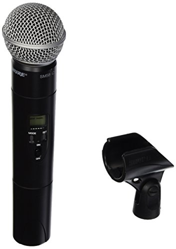 Shure ULX2/58 with SM58 Cardioid Microphone, J1 by Shure