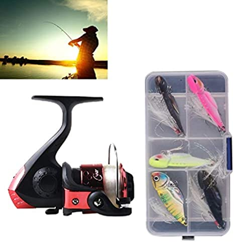 Al aire libre Juego de pequeños aparejos de pesca 200 Tipo 3BB ...