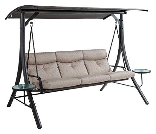 3 PERSON SWING W/TABLES