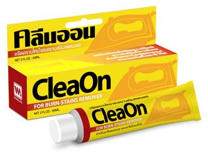 - Cleaon : Hot Iron Cleaner (2 Fl.Oz) , Stains Remover for all type of iron and pressing machine surfaces with the coating for smoother ironing