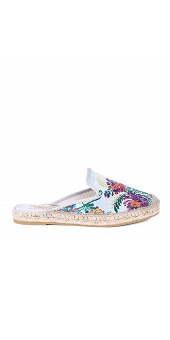 VIDORRETA Alpargatas Descalzas Flores - Color - Gris, Talla Zapatos Mujer - 37: Amazon.es: Zapatos y complementos
