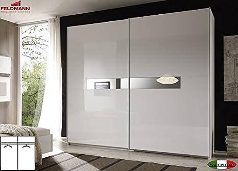 555024 Armario Armario de puertas correderas (2 puertas blanco ...