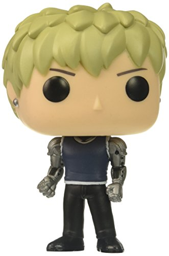 One Punch Man One Punch Man-FUNVPO14994 Figura de Vinilo Genos, Multicolor, Standard (Funko 14994)