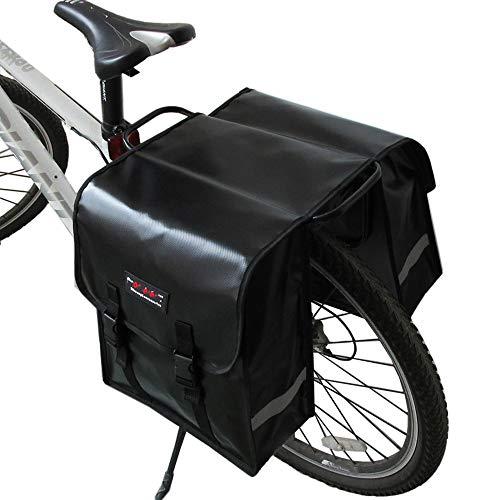 Bicicleta Trasera red Con Paquete Ciclismo 32 Para Silla De En Bolso Doble Deportivo 14cm Asiento 35 Black Alforjas Estante Trasero Messenger Rack El Wy ayng Montar Ywqt1wz