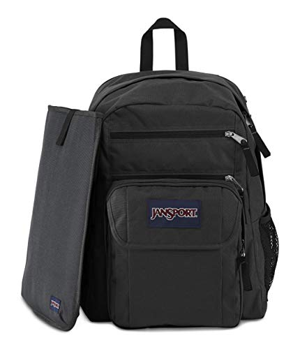 JanSport Digital Student Backpack Black Forge Grey One Size