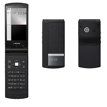 639b7436e6 Amazon | NEC N-09A ブラックウッド 携帯電話 白ロム ドコモ docomo ...