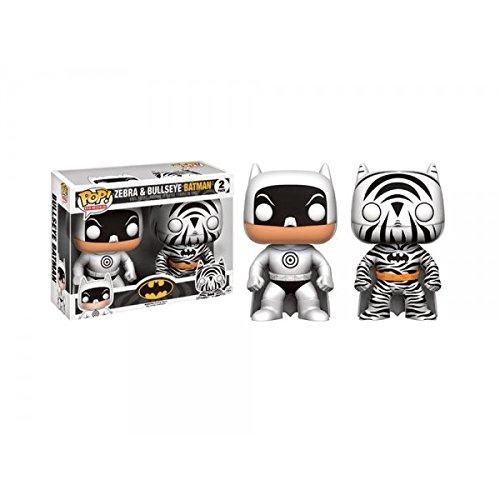 Batman Eyes (Zebra and Bullseye Batman 2- Pack Funko Pop Hot Topic Exclusive)