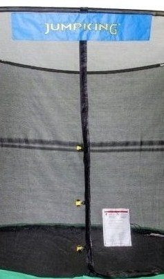 JumpKing 9' x 14' Enclosure Net Oval for 8 Poles with JK Logo by JumpKing