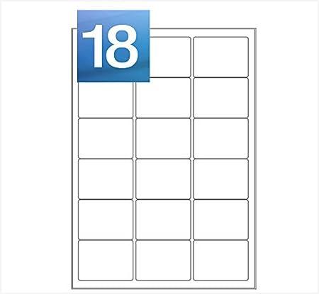50 Sheets - 2 Per Sheet (199.6 x 143.5mm) A4 Laser / Inkjet Self Adhesive Printer Address Labels - 100 Labels - MAILERPRO® Range