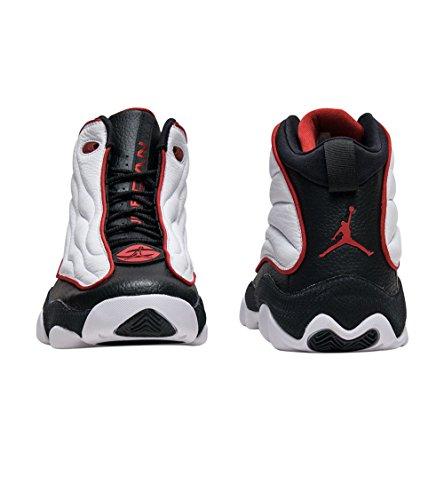 Pro Shoes Red Black White Nike Basketball Jordan Retro Strong 5ZXZRq