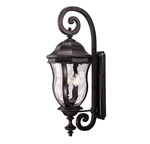 Savoy House KP-5-303-BK Four Light Wall Mount Lantern