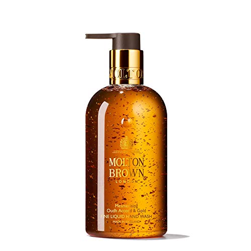 Molton Brown Fine Liquid Hand Wash, Mesmerising Oudh Accord & Gold, 10 Fl. Oz. (Molton Brown Body Wash 10 Fl Oz)