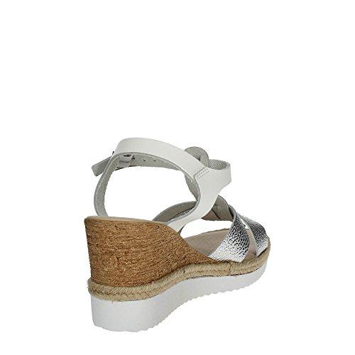 Cinzia Soft IG9739 001 Sandalias Mujer Blanco/Argent