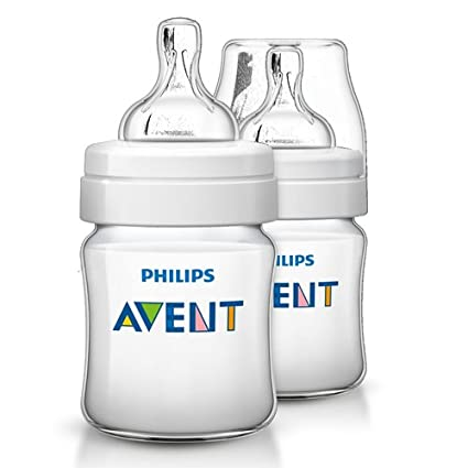 Philips Avent Classic - Biberón SCF560/17 (125 ml/4 oz) x 1: Amazon ...