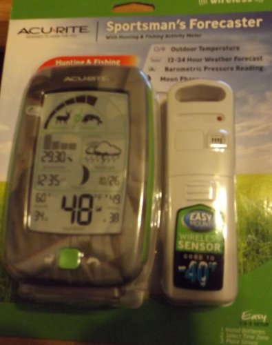 Acurite Sportsman's Forecaster with Hunting & Fishing Act...