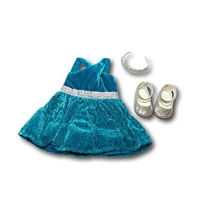American Girl - Gabriela McBride - Gabriela's Celebration Dress for 18-inch Dolls of 2020: Toys & Games