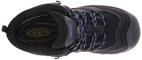 Logan Mid Walking Keen Black Women's Periwinkle Boots fUBBqFwn
