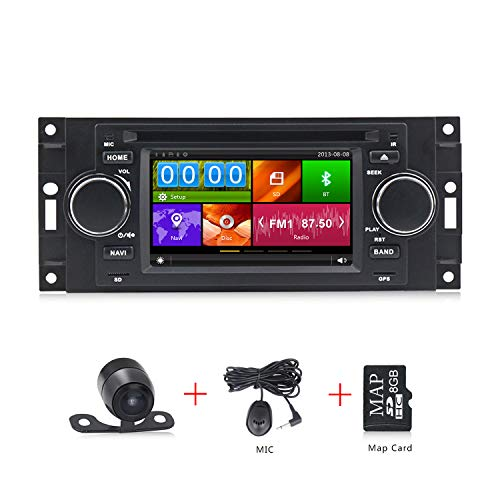 Car Radio GPS DVD Player Navigation for Chrysler 300C / Dodge RAM/Jeep Grand Cherokee RDS navi Free map (Chrysler Navigation Antenna)