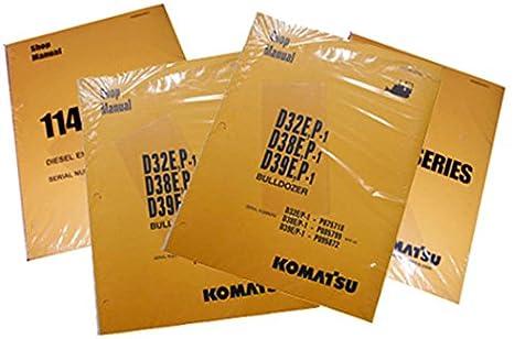 Amazon com: Komatsu PC30-7, PC40-7, PC45-7 Excavator
