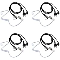 Walkie Talkie Earpiece for Midland with Mic Security Headsets for GXT1000VP4 LXT500VP3 GXT1050VP4 GXT1000XB (4 Pack)