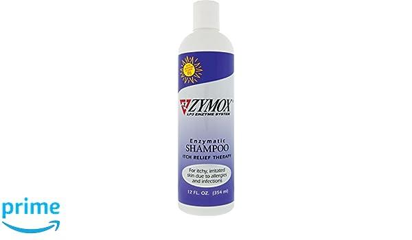 Pet King Brands zymox enzimática Champú, 12 oz