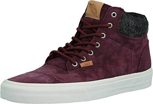 Vans Era Hi CA Pig Suede Port Royale/Mix Textiles Ankle-High Fashion Sneaker - 11M 9.5M