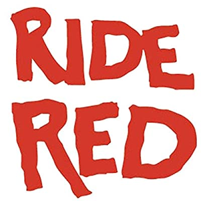 Factory Effex 04-2674 Red 'Ride Red' Die-Cut Dealer Sticker, (Pack of 3): Automotive