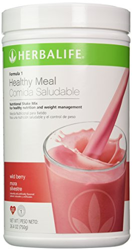 Shake Mix Banana - Herbalife Formula 1 Nutritional Shake Mix, Wild Berry Canister, 26.4 oz