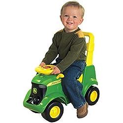 John Deere Sit N Scoot Plastic Preschool Tractor Ertl Age 12M - TBEK35206