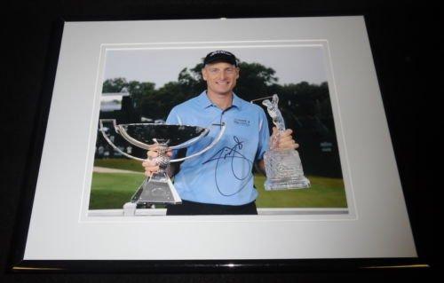 Jim Furyk Signed Framed 8x10 Photo - Jim Furyk Framed