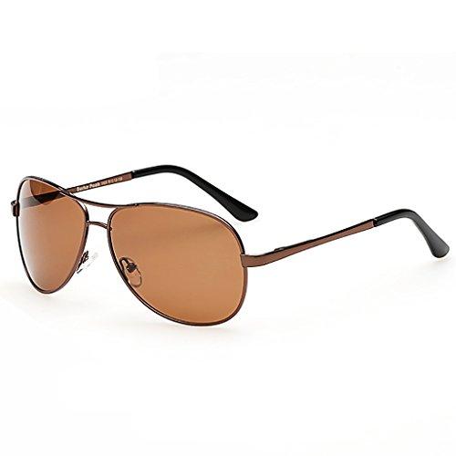 Aviador de Peso Ligero Color Hombre Gafas Sol SunglassesMAN 4 Marco de Yxsd Deportes protección polarizado 2 UV400 Metal wCPC1Yqfx
