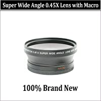 Wide Angle/Macro Lens FOR THE Olympus PEN E-PL1, E-P2 PEN CAMERAS.THIS LENS WILL ATTACH DIRECTLY TO THE FOLLOWING OLYMPUS LENSES 14-42mm, 40-150mm, 70-300mm