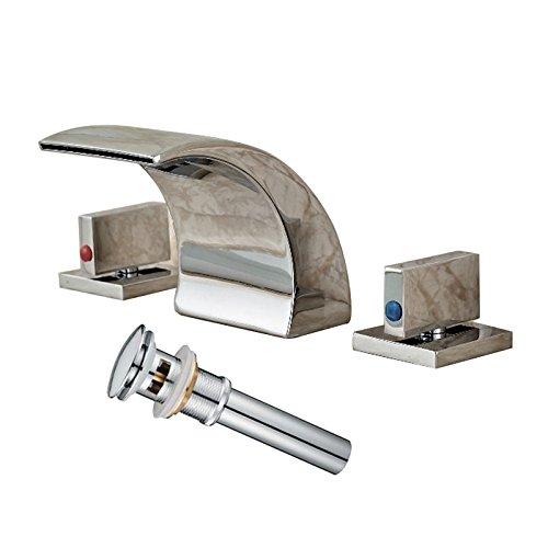 8 inch bathroom faucet chrome - 7