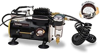 Iwata-Medea Studio Series Smart Jet Single Piston Air Compressor