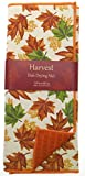 #4: Reversible Brown and Green Fall Leaves Dish Drying Mat 15