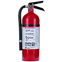 Kidde 21005779 Pro 210 Fire Extinguisher, ABC, 160CI, 4 lbs, 1 PackA multipurpose fire extinguisher for your home or business, the Kidde Pro 210 (model No. 21005779) is fitted with a pressure gauge that provides an at-a-glance status, and it ...