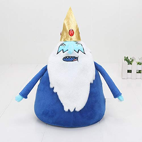 PAPWELL Ice King Plush Toy 9.8 inch Adventure Time Toys Hot Soft Stuffed Cotton Christmas Halloween Birthday Collectable Gift Collectible Movie Cute Big Large Collectibles for Kids Children