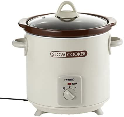 TWINBIRD Kotokoto simmer (Slow Cooked) slow cooker EP-4717BR Brown