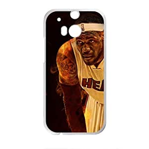 Cheerful lebron james miami heat Phone Case for HTC One M8 by ruishername